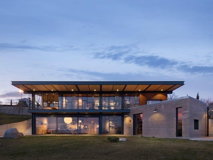 Steel patio door FERROFINESTRA® W 50 TB | Patio door by Ottostumm