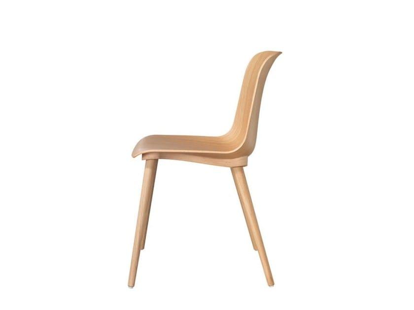Malscher Sitzmöbel wood veneer chair ff3 by msm