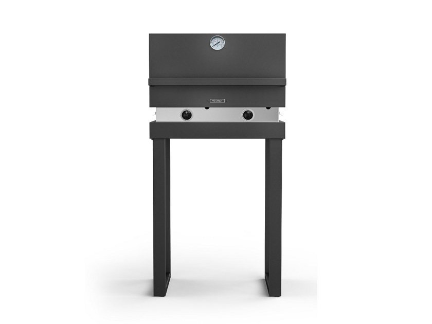 Gas oven 500 with fixed tubolar legs FGA 500 FO + FGF GAS | Barbecue by Fògher