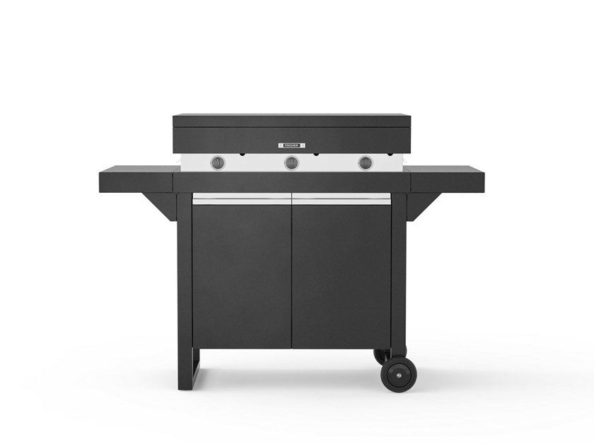 Portable gas 750 with cart FGA 750 + FCL 750   Barbecue by Fògher