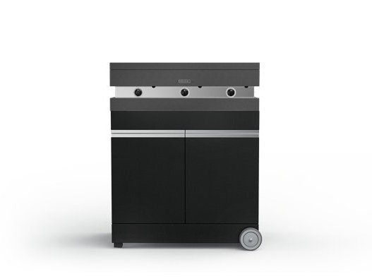 Portable gas 750 with cabinet FGA 750 + FMO 750 | Barbecue by Fògher