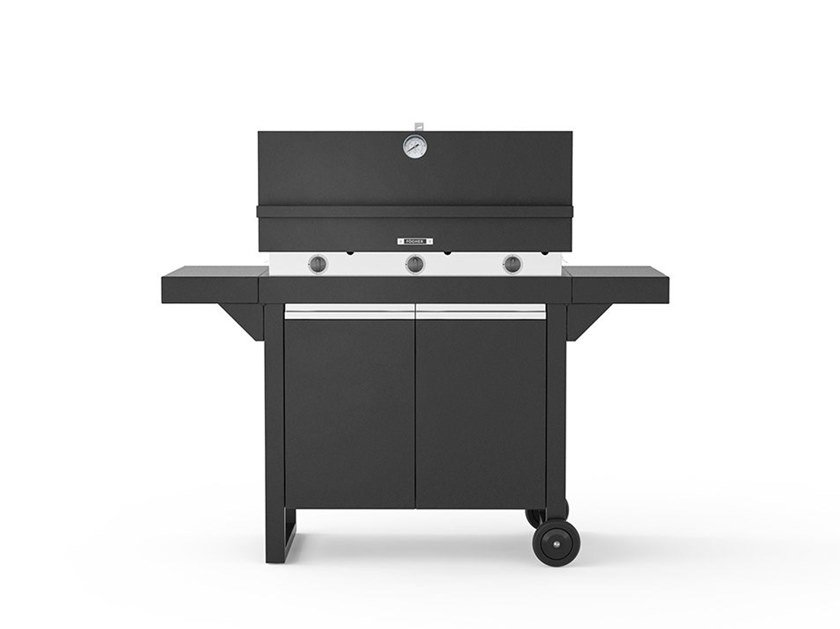 Gas oven 750 with cart FGA 750 FO + FCL 750 | Barbecue by Fògher