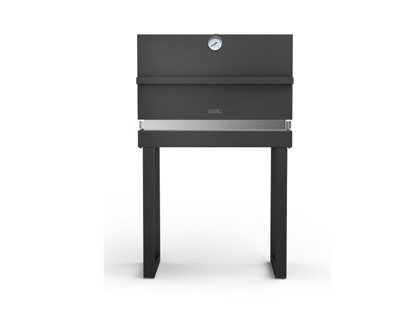 Portable oven grill 650 with tubolar legs FGR 650 FO + FGF GR by Fògher
