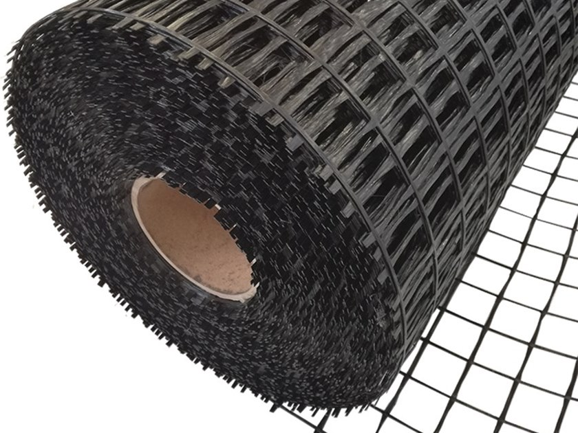 Glass-fibre Mesh for base layer for flooring FIBERGLASS MESH by LINK industries