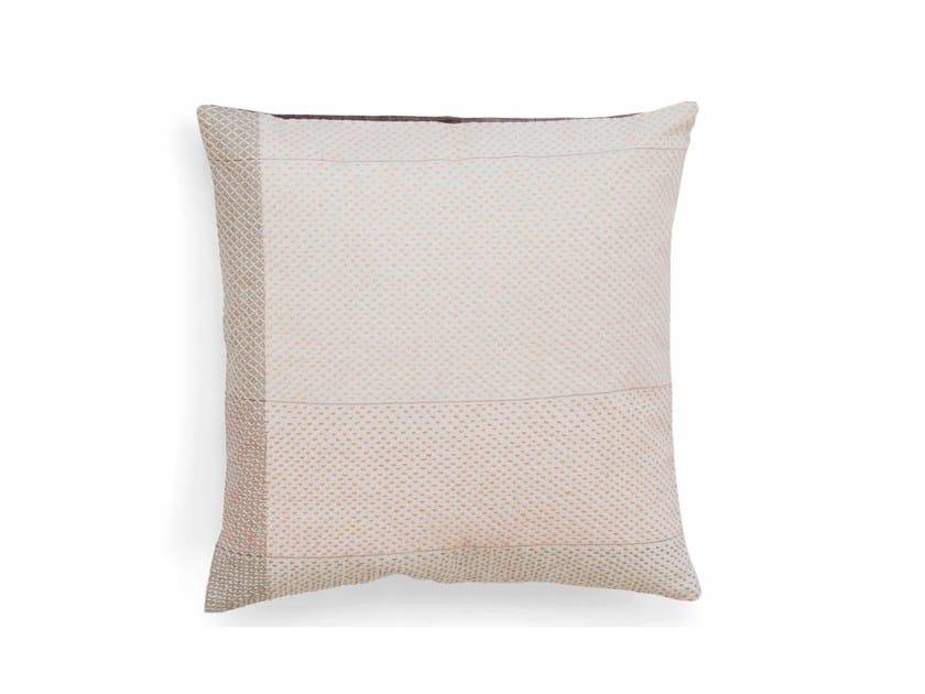 Square cotton cushion FIBONACCI 40 x 40 by Vij5