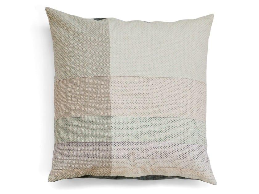 Square cotton cushion FIBONACCI 55 x 55 by Vij5
