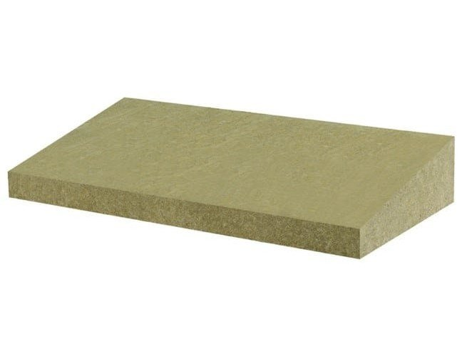 Rock wool Thermal insulation panel FIBRANgeo BPI-50 INCLINE BOARDS by Fibran