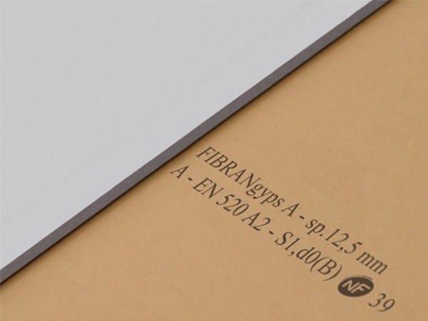 Gypsum plasterboard FIBRANgyps A by Fibran
