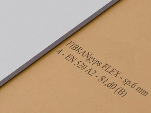 Gypsum plasterboard FIBRANgyps FLEX by Fibran