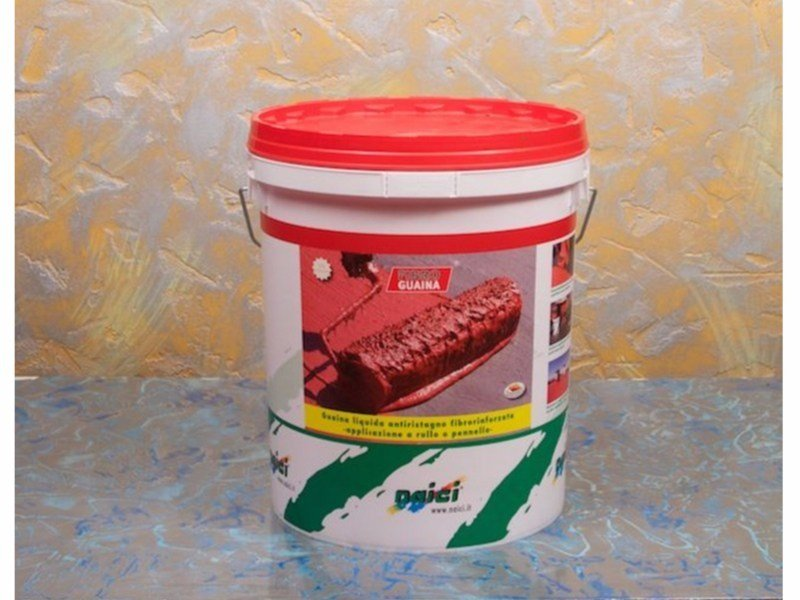 Liquid waterproofing membrane / Sheaths for foundation and earth retaining wall FIBROGUAINA by NAICI ITALIA