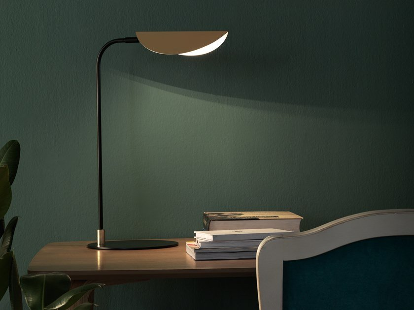 Metal desk lamp FICUS | Desk lamp by Aromas del Campo