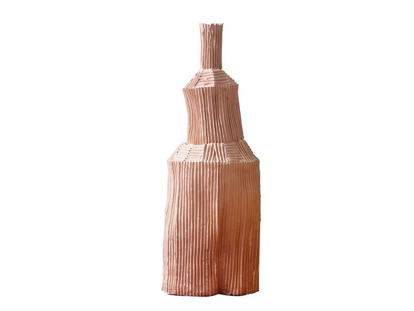 Ceramic bottle FIDE | Bottle by Paola Paronetto