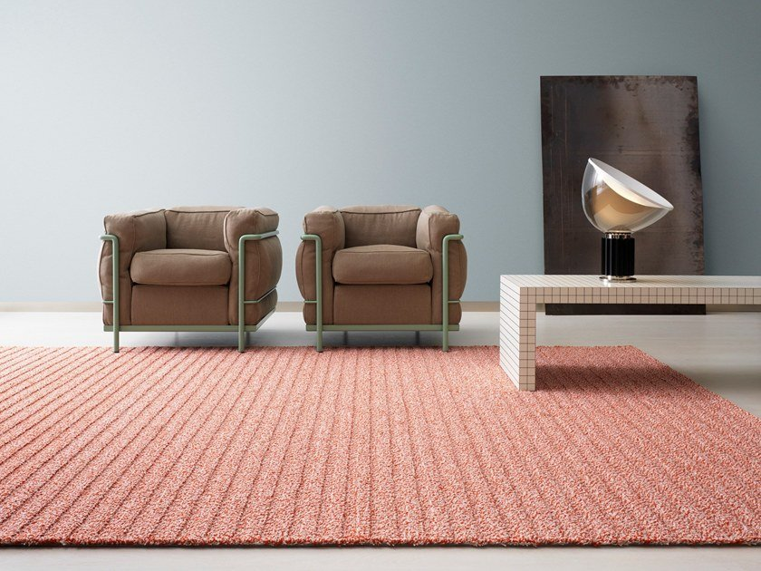 Solid-color wool rug FIELD by Kasthall