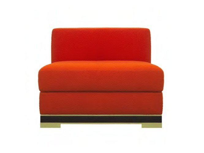 Upholstered wool armchair FIESOLE | Armchair by Formitalia