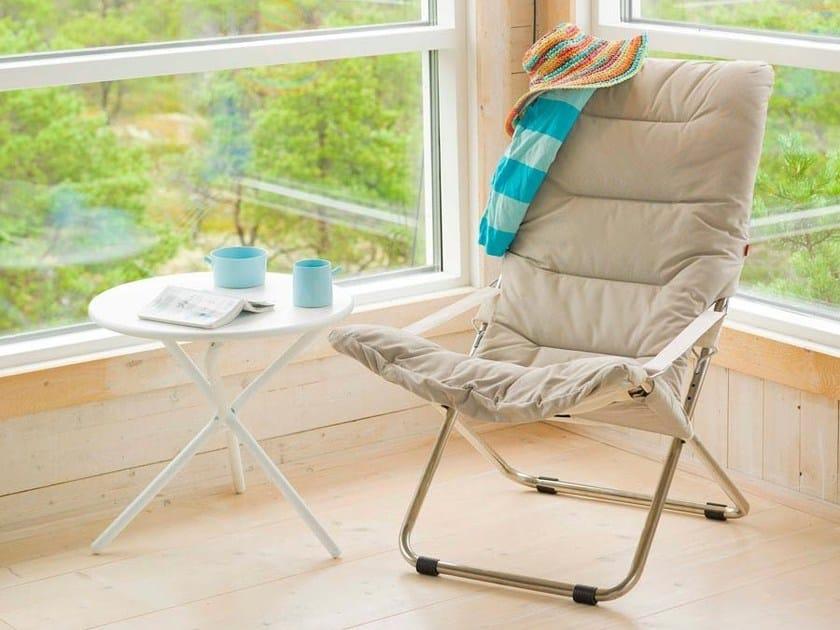 Sedia A Sdraio Tessuto : Sedia a sdraio pieghevole reclinabile in tessuto fiesta soft fiam