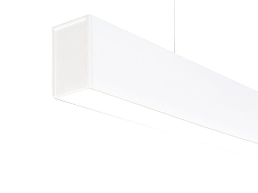 LED aluminium pendant lamp FIFTY HO SUSPENSION by Arkoslight