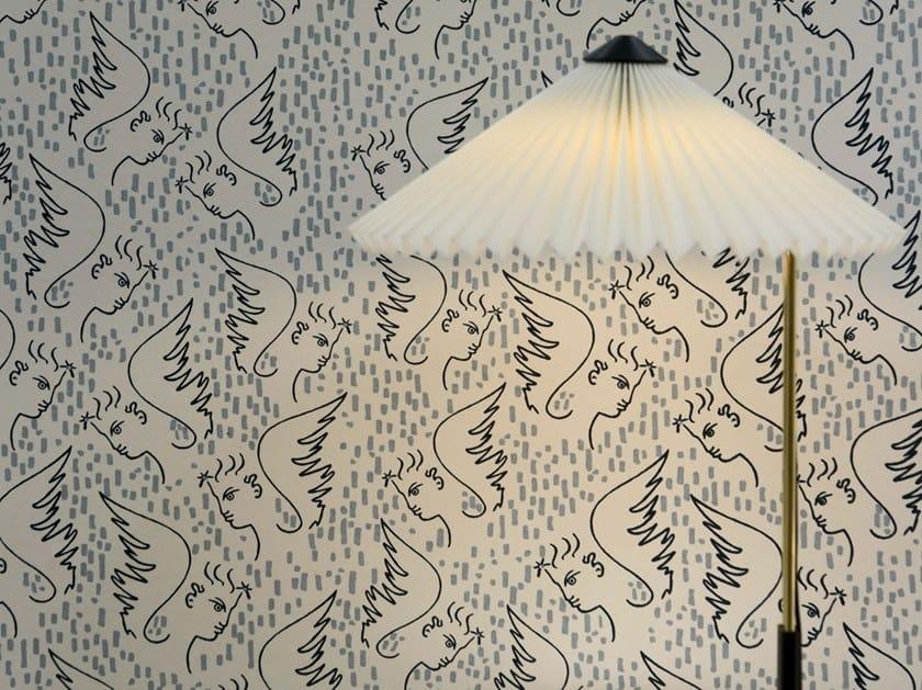 Motif nonwoven wallpaper FIGURE D'ANGE by LELIEVRE