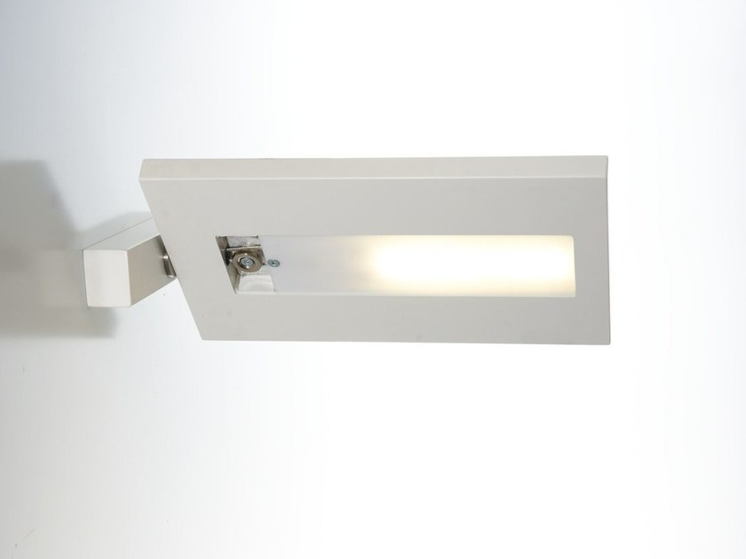 Applique a led a luce diretta orientabile fiin by zava design