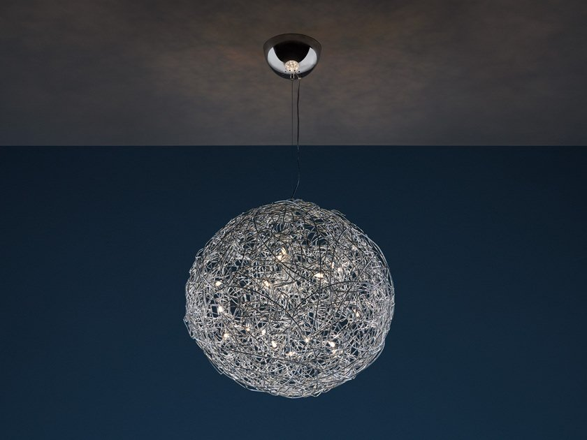 LED pendant lamp FIL DE FER | Pendant lamp by Catellani & Smith