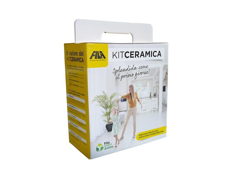 Prodotto per la pulitura delle facciate FILA KITCERAMICA by Fila