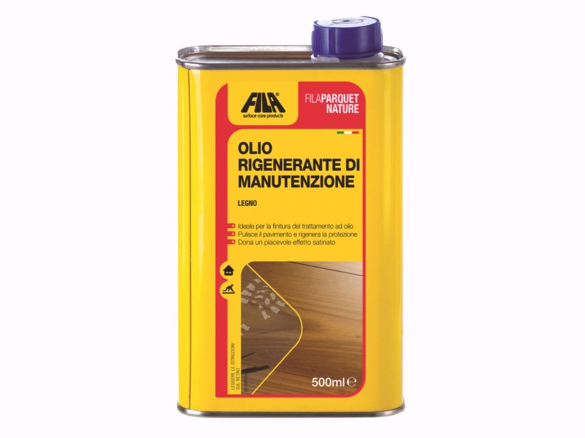 Maintenance for oil treated parquet FILAPARQUET NATURE by Fila