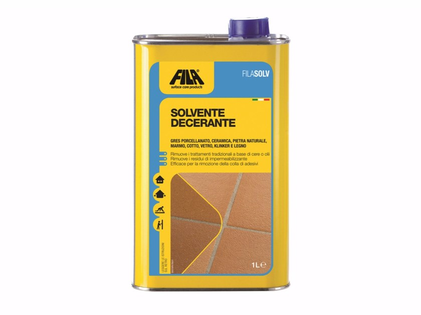 Stripper for solvent-based wax FILASOLV by Fila