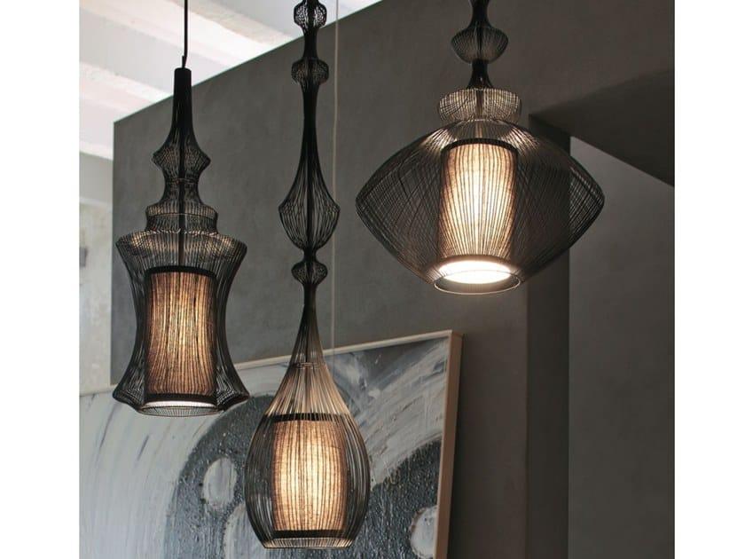 Contemporary style metal pendant lamp FILE | Pendant lamp by Adriani e Rossi edizioni