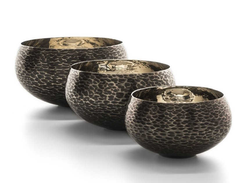 Bronze Bowls set FILICUDI by ZANETTO