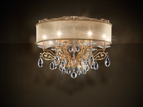 Filigrae fabric chandelier by schonbek fabric chandelier with swarovski crystals filigrae fabric chandelier by schonbek aloadofball Gallery