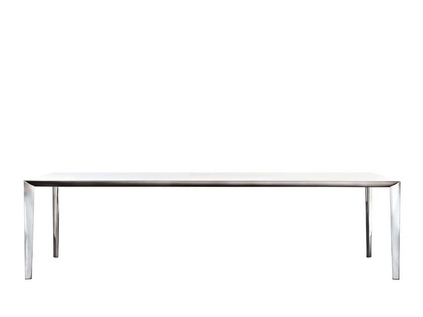 Extending rectangular table FILIGREE | Rectangular table by Molteni&C