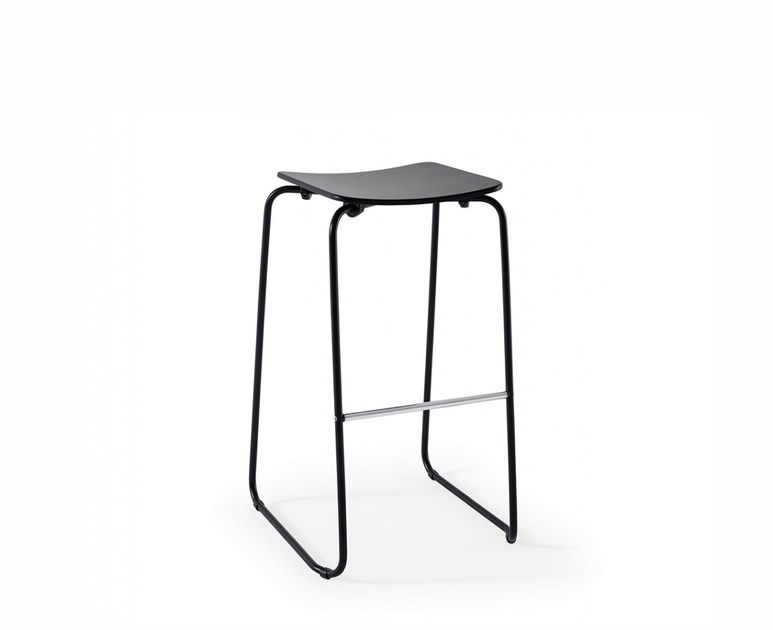 High stackable barstool FILL 4 | Sled base stool by Adico