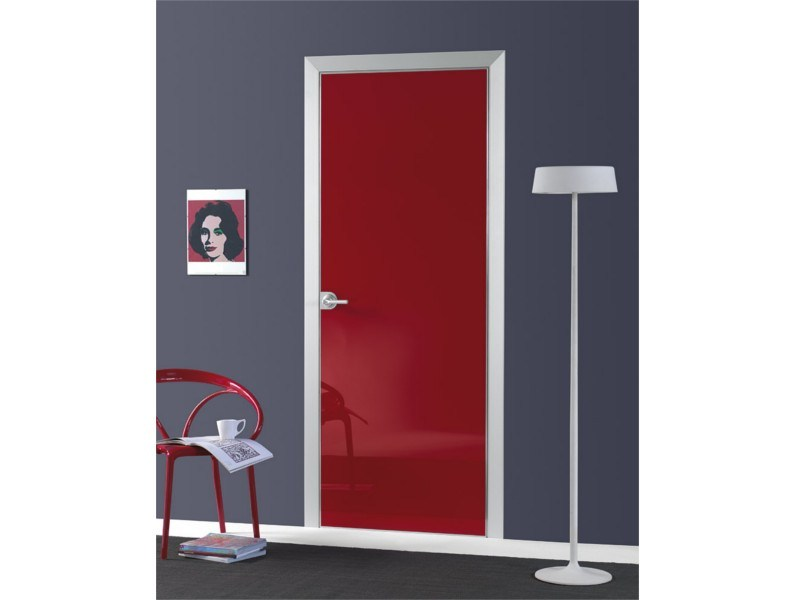 Flush-fitting door FILO A FILO - POLISHED GLASS by PORTEK by LEGNOFORM