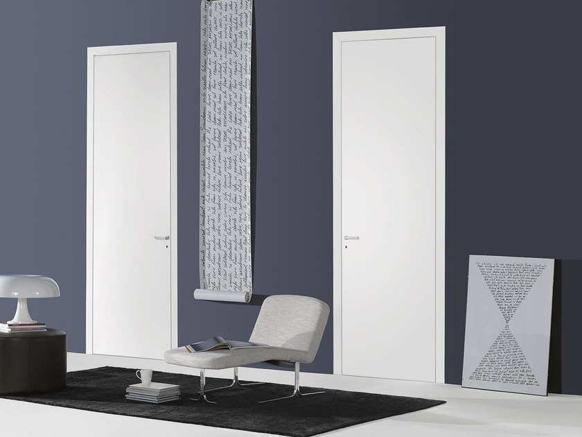 Hinged flush-fitting door FILO A FILO - LACQUERED by PORTEK