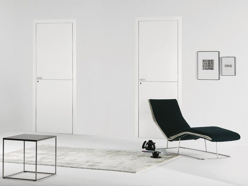 Flush-fitting lacquered door FILO A FILO - LACQUERED by PORTEK