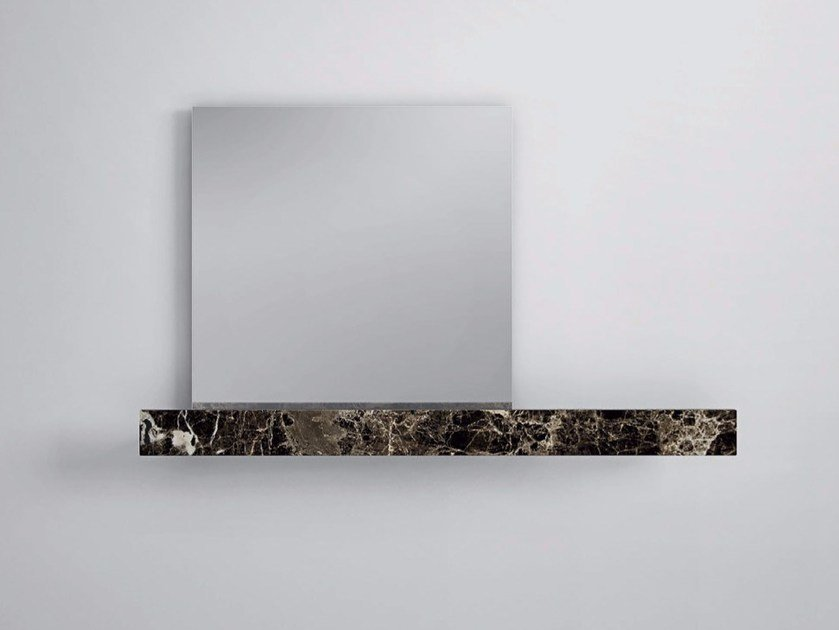 Mirror / bathroom wall shelf FILOLUCIDO | Bathroom wall shelf by Rexa Design