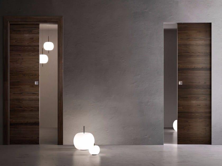 Hinged wooden door FILOMURO | Hinged door by GAROFOLI