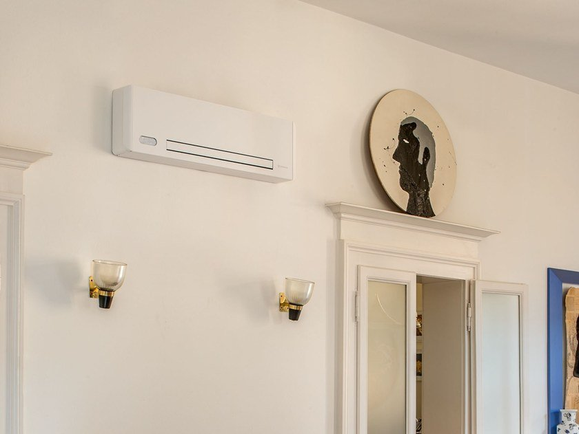 Wall-mounted fan coil unit FILOMURO SLW 400 by Innova