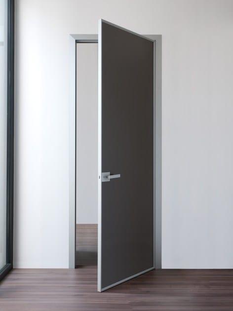 Porta a battente in vetro FILUM by ALBED by Delmonte