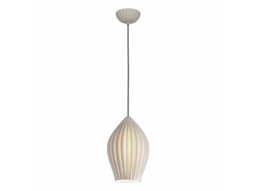 Porcelain pendant lamp with dimmer FIN LARGE by Original BTC