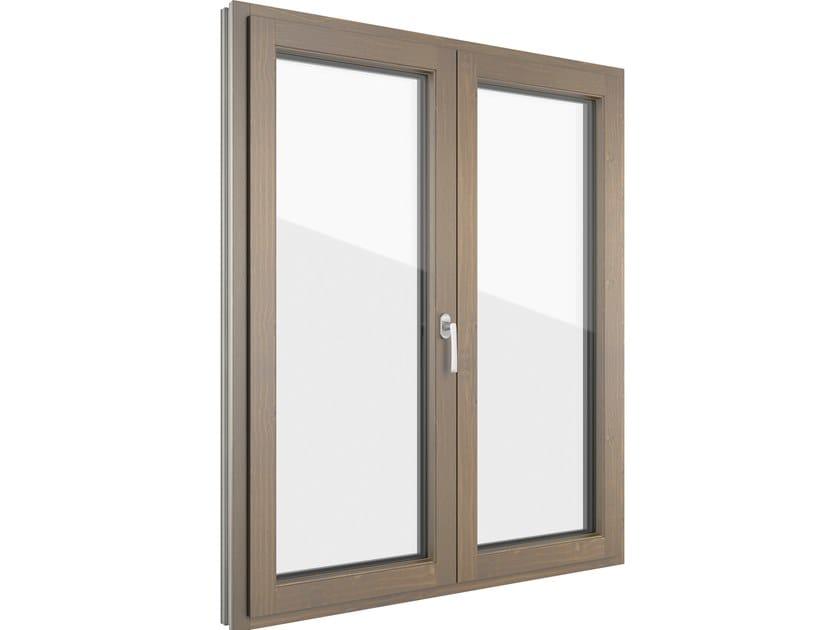 Aluminium and wood casement window FIN-LIGNA SLIM-LINE | Aluminium and wood window by FINSTRAL