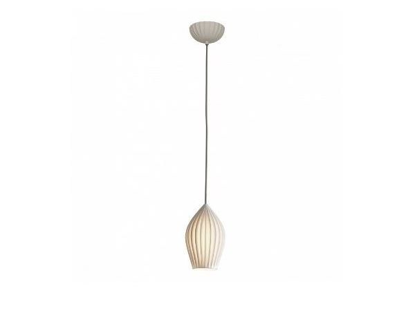 Porcelain pendant lamp with dimmer FIN MEDIUM by Original BTC