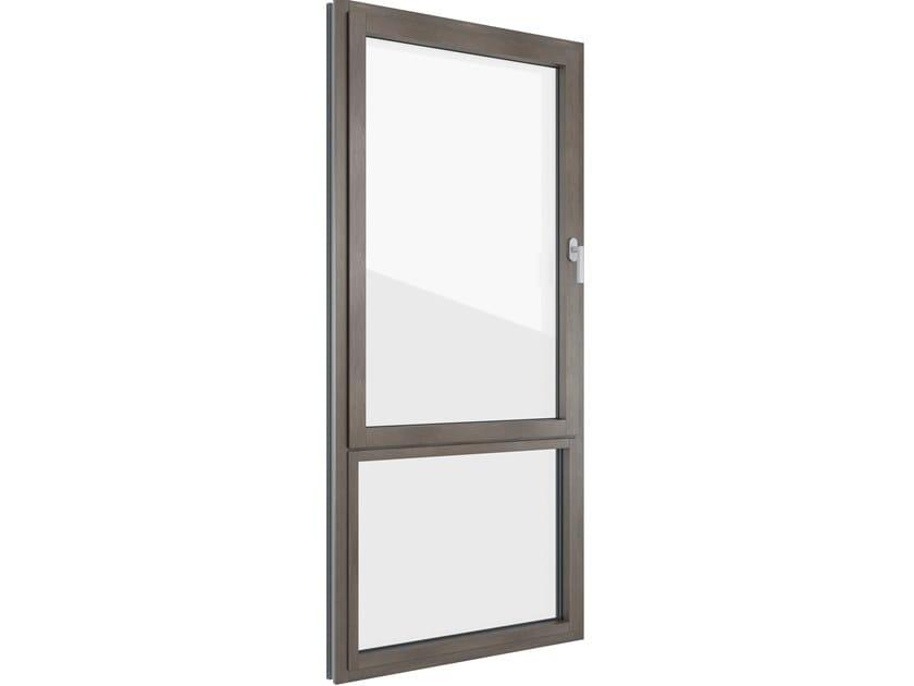 FIN-PROJECT NOVA-LINE | Finestra in alluminio e legno