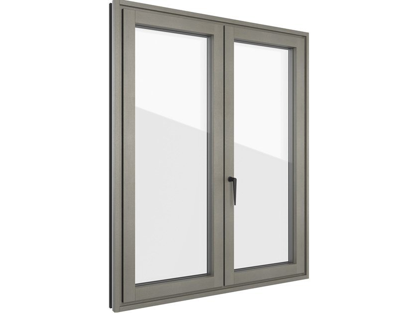 FIN-PROJECT NOVA-LINE PLUS   Finestra in alluminio e legno