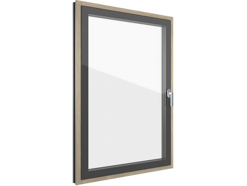 FIN-PROJECT STEP-LINE CRISTAL   Finestra in alluminio e legno