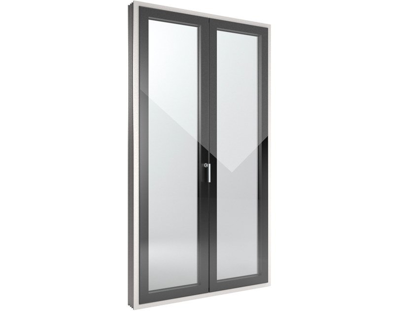 FIN-Window Slim-line Cristal PVC-PVC