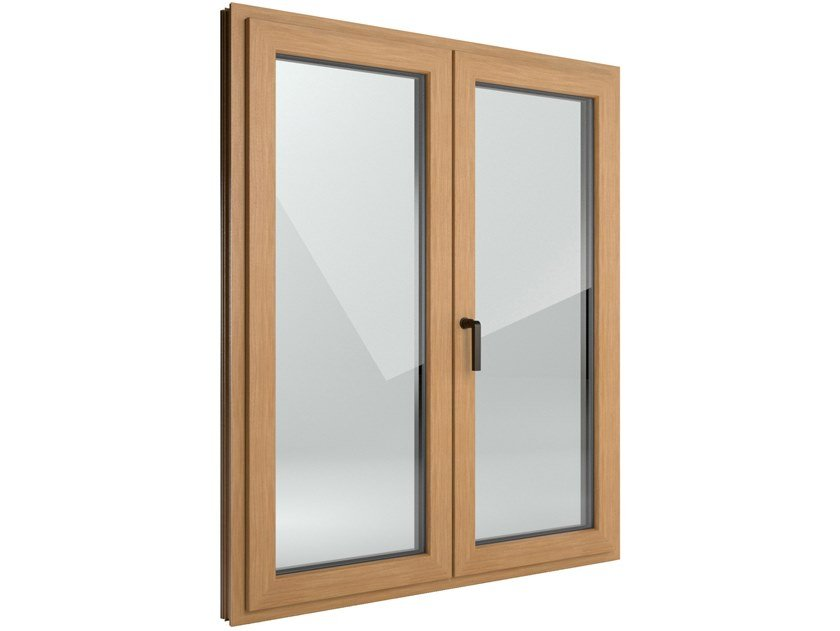 Aluminium and PVC parallel tilt-and-slide door FIN-Window Step-line Aluminium-PVC by FINSTRAL
