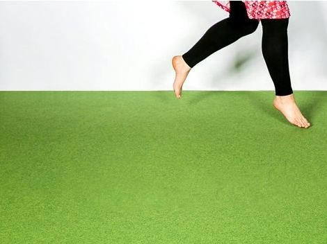 Needled flooring FINETT FEINWERK buntes treiben by FINDEISEN