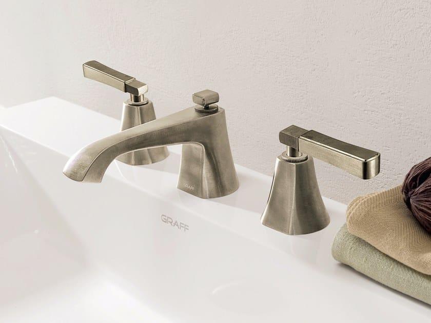 Miscelatore per lavabo a 3 fori da piano FINEZZA | Miscelatore per lavabo a 3 fori by Graff Europe West
