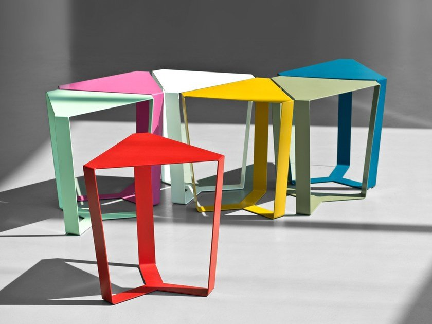 Bistro side table for living room FINITY by meme design