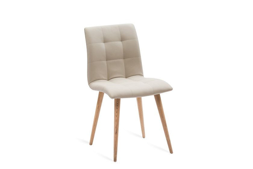 Upholstered Eco-leather chair FINLAND by La seggiola